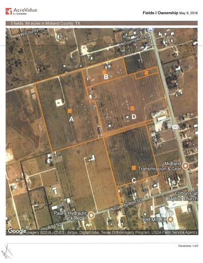 Midland Residential Lots & Land For Sale: 5804 Hwy 349s