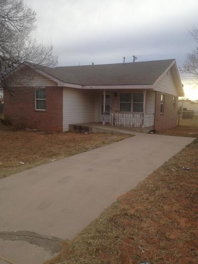 Odessa Single Family Home For Sale: 322 Bunche