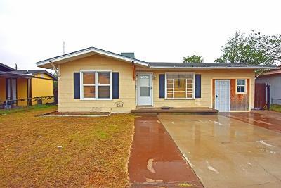 Odessa Single Family Home For Sale: 2721 N Tom Green Ave