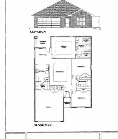 Odessa Single Family Home For Sale: 2206 N Dixie Blvd