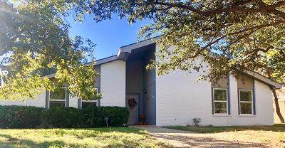 Midland Single Family Home For Sale: 3301 Ward St