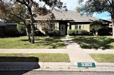 Midland Single Family Home For Sale: 3302 Northfield Dr