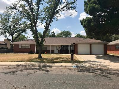 Midland Single Family Home For Sale: 2103 Ward St