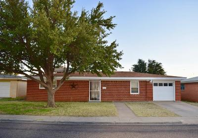 Odessa Single Family Home For Sale: 1710 E 11th St
