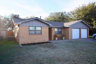 Odessa Single Family Home For Sale: 2813 Tanglewood