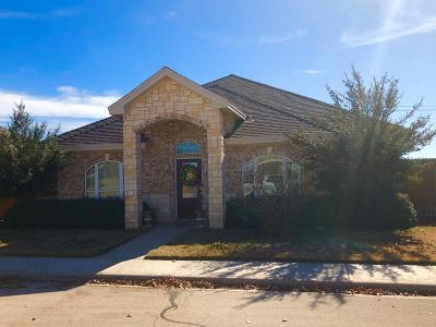 Odessa Single Family Home For Sale: 6624 Amber Dr