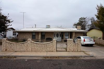 Odessa Single Family Home For Sale: 2811 W 5th