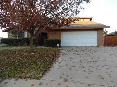 Odessa Single Family Home For Sale: 2303 Bobwhite Dr