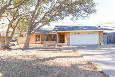 Odessa Single Family Home For Sale: 1215 Roanoke