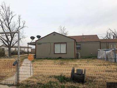 Odessa Single Family Home For Sale: 5267 26th St