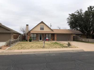 Midland Single Family Home For Sale: 4525 Leddy Dr
