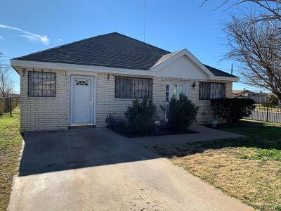Odessa Single Family Home For Sale: 900 Snyder St