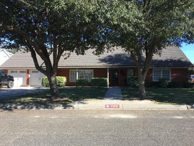 Midland Single Family Home For Sale: 3302 Cord Dr