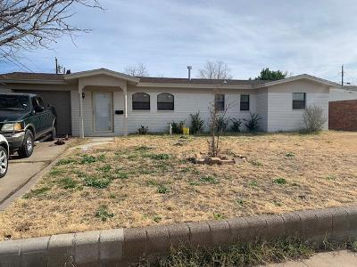 Odessa Single Family Home For Sale: 4302 Delwood Ave