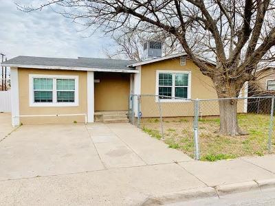 Odessa Single Family Home For Sale: 3648 N Dixie Blvd