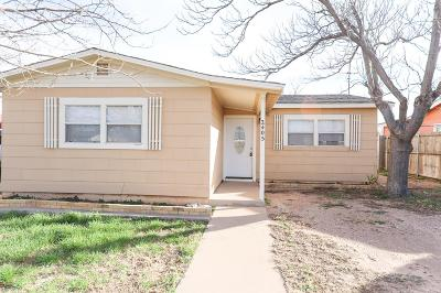 Odessa Single Family Home For Sale: 2405 W 5th St