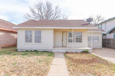 Midland Single Family Home For Sale: 2505 College Ave