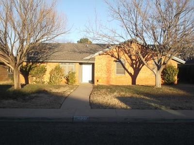 Odessa Single Family Home For Sale: 9020 Lamar Ave