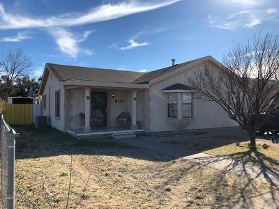 Odessa Single Family Home For Sale: 901 W 19th St