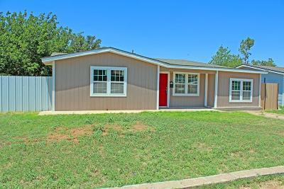 Odessa Single Family Home For Sale: 3719 N Everglade Ave