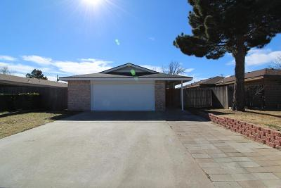 Odessa Single Family Home For Sale: 3912 Richmond St