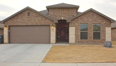 Odessa Single Family Home For Sale: 9105 Pepper Grass Ave
