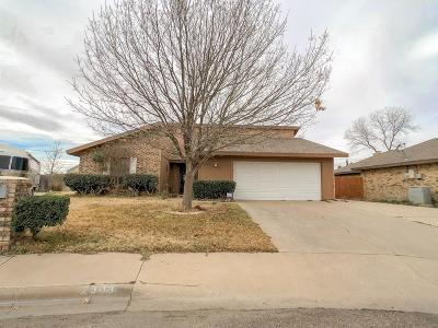 Odessa Single Family Home For Sale: 2303 Bobwhite Dr