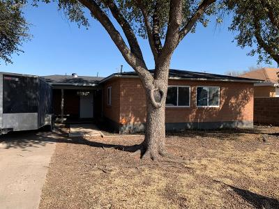 Odessa Single Family Home For Sale: 2829 Hilltop Dr