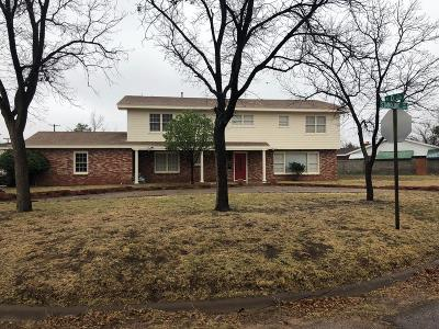 Midland Single Family Home For Sale: 2200 N D St