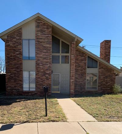 Odessa Single Family Home For Sale: 5404 Conley Ave