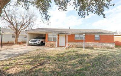 Odessa Single Family Home For Sale: 2607 E 10th St
