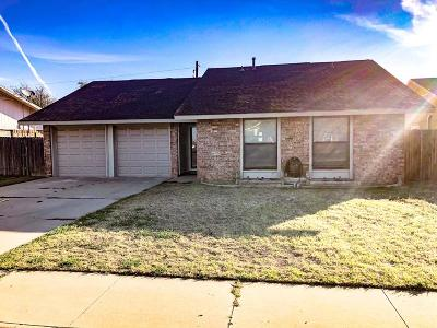Odessa Single Family Home For Sale: 5004 Bonham Ave