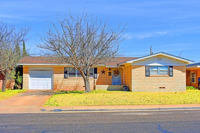 Odessa Single Family Home For Sale: 1609 Castle Rd