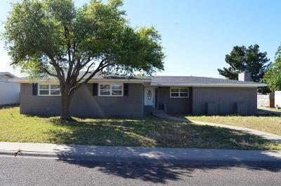 Odessa Single Family Home For Sale: 2806 E 31st St