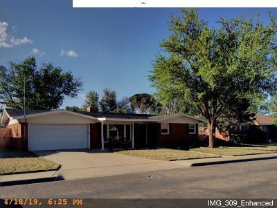 Odessa Single Family Home For Sale: 2807 Disney St