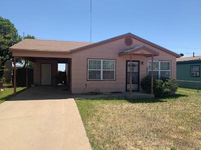 Odessa TX Single Family Home For Sale: $95,000