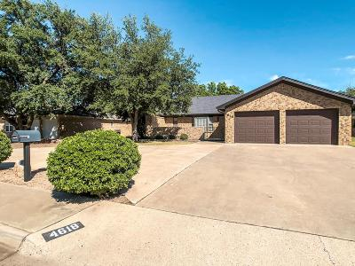 Odessa Single Family Home For Sale: 4618 Somerset Lane