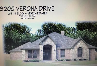 Odessa Single Family Home For Sale: 3200 Verona Dr