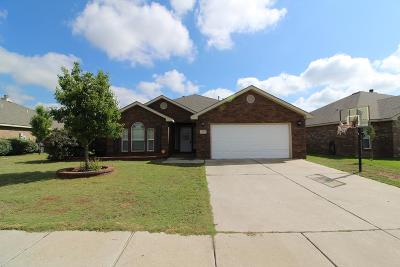 Odessa Single Family Home For Sale: 619 Cabrillo Dr