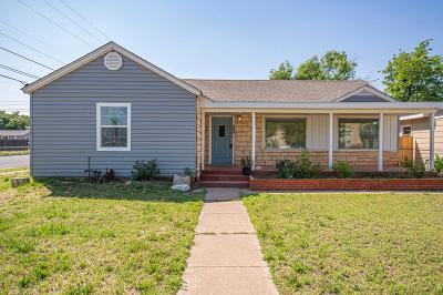 Odessa Single Family Home For Sale: 812 E 23rd St