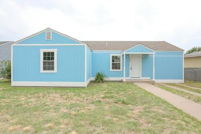 Odessa Single Family Home For Sale: 1805 Eisenhower Dr
