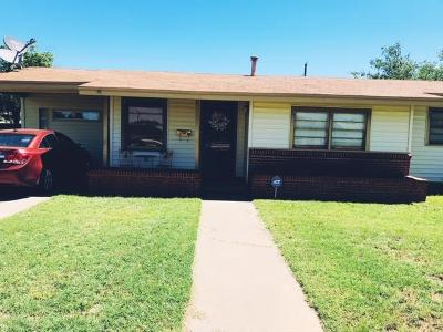 Midland Single Family Home For Sale: 3416 Tanner Dr