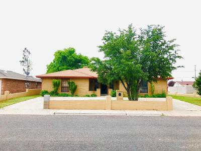 Odessa Single Family Home For Sale: 1717 W 24th St