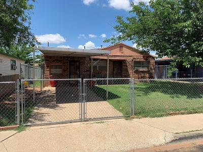 Odessa TX Single Family Home For Sale: $124,900