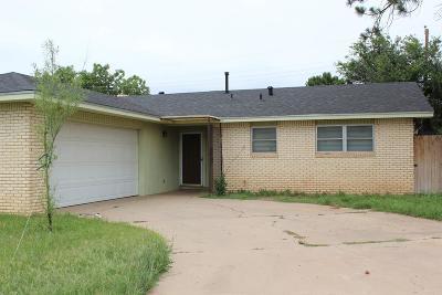 Odessa Single Family Home For Sale: 1523 E 49th St