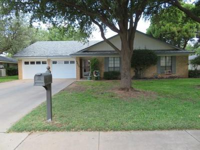 Odessa Single Family Home For Sale: 4655 Fountain Lane