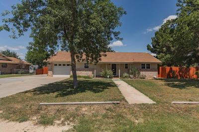 Odessa Single Family Home For Sale: 2332 N Marvin Ave