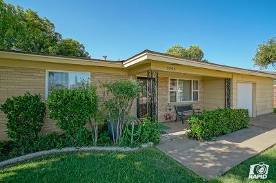 Midland Single Family Home For Sale: 3905 Roosevelt Dr