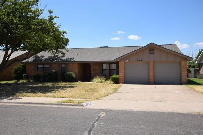 Odessa Single Family Home For Sale: 1609 Pagewood Ave