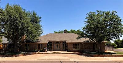 Midland Single Family Home For Sale: 3704 Northfield Dr